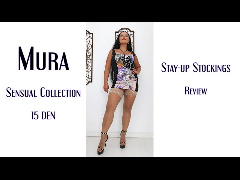 Mura Sensual Collection 15 DEN stay-up stockings (Review)