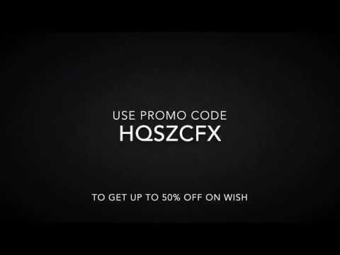 Wish Promo Code 2017