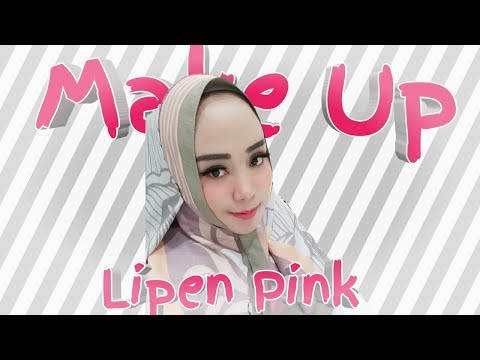 tutorial-make-up-menggunakan-lipstik-warna-pink
