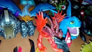 Вся моя коллекция 'Как приручить дракона' (кпд)/ My entire collection of 'How to train your dragon'