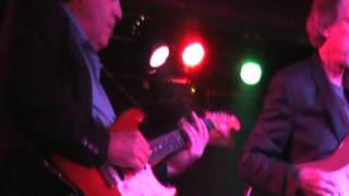 """The Sun is Shining"", featuring slide guitarists Mark Riley, Billy Stapleton, and Brian Lee"