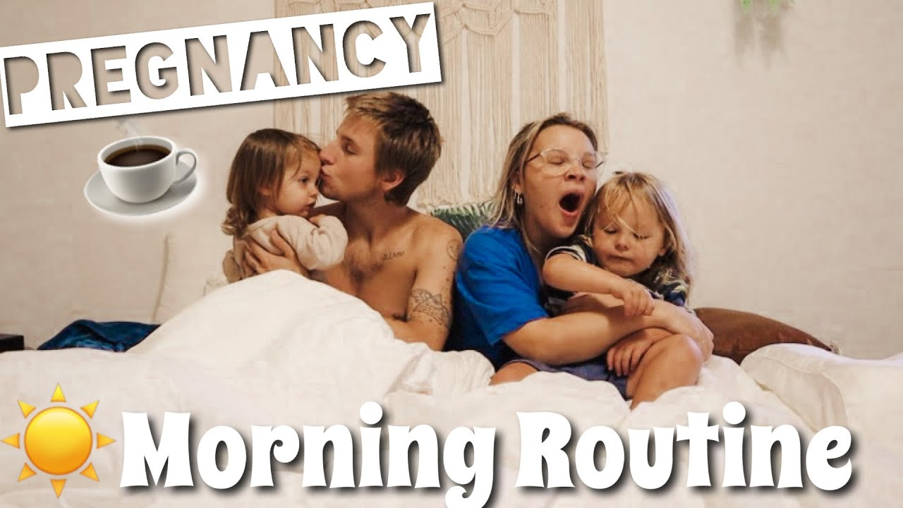 Morning Routine // Pregnant With 2 Toddlers