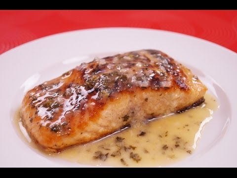 Seared Salmon With Lemon Butter Sauce - Pan Seared Salmon Recipe - Dishin' With Di  # 133