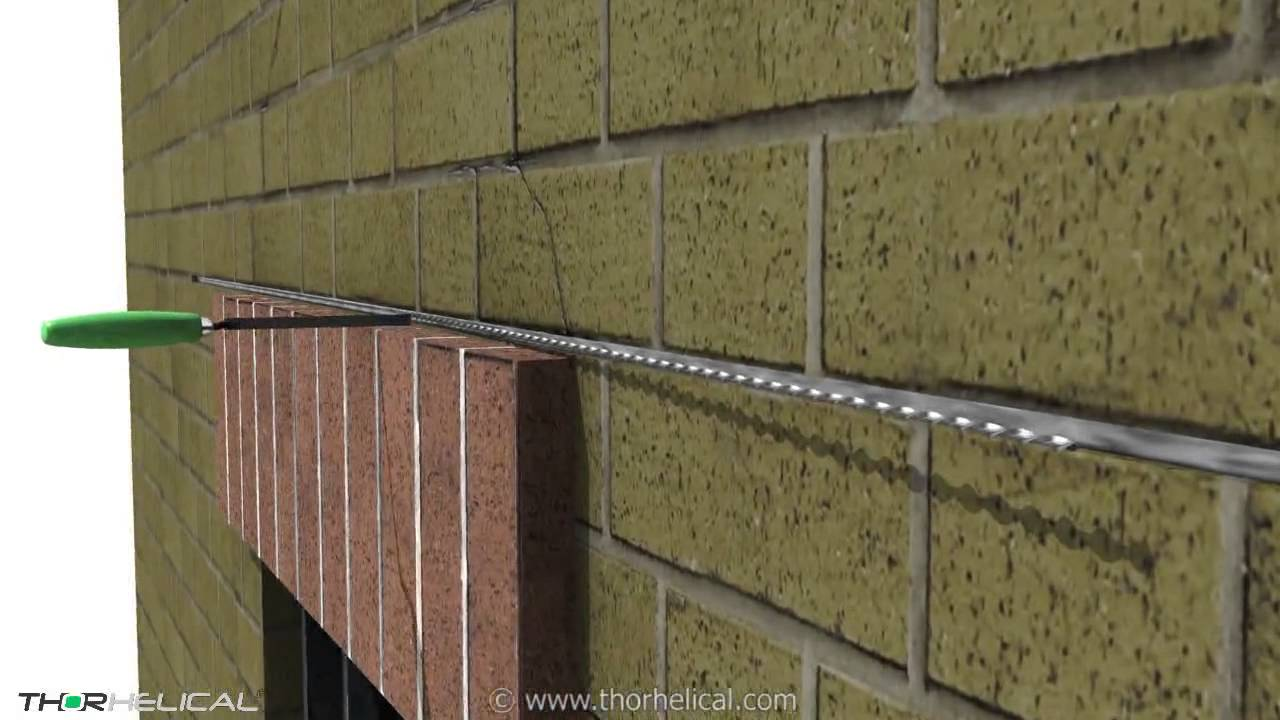 Stainless Steel Reinforcing Bars for Structural Lintel Repairs ...