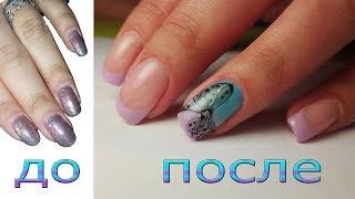 🎀 нежный ЛЕТНИЙ дизайн ногтей 🎀 РИСУЕМ БАНТИК на ногтях 🎀 РИСУЕМ ФРЕНЧ гель лаком 🎀