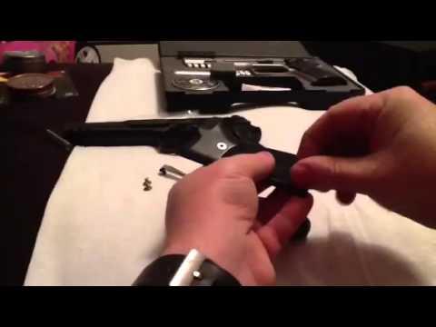 Umarex Walther CP88 Stainless Steel Grip Screws upgrade