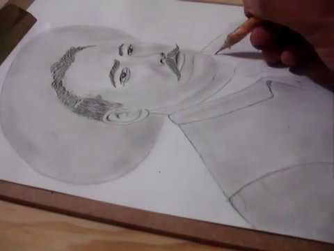 Dibujando A Pancho Villa Drawing Francisco Villa