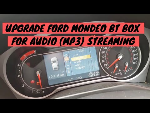 Ford #mondeo #MK4 BT box upgrade
