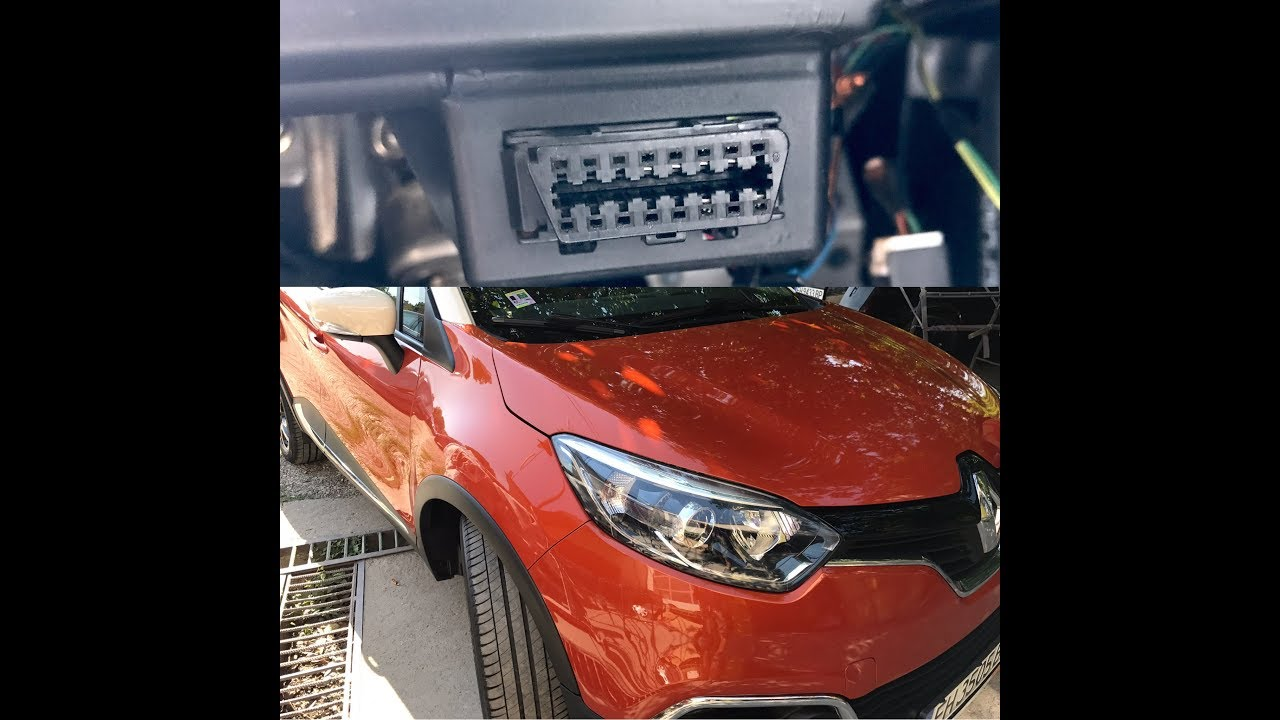 Renault Captur 2015 Obd2 Port Location Youtube