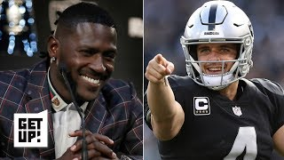 Antonio Brown gives Derek Carr the tools to be the Raiders' franchise QB - Dan Orlovsky | Get Up!