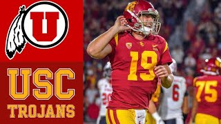 #10 Utah vs USC Highlights | NCAAF Week 4 | College Football Highlights