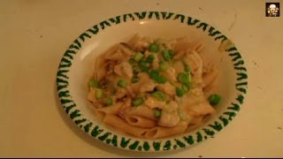 Creamy Chicken Pasta Carbonara Recipe