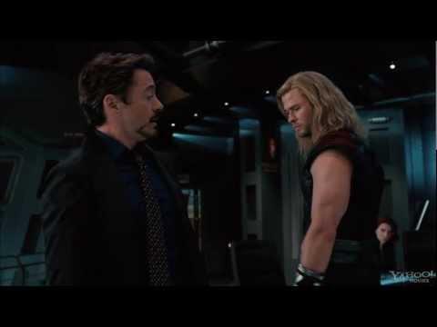 The Avengers - Teaser Trailer #1 (Captain America post-credit scene)