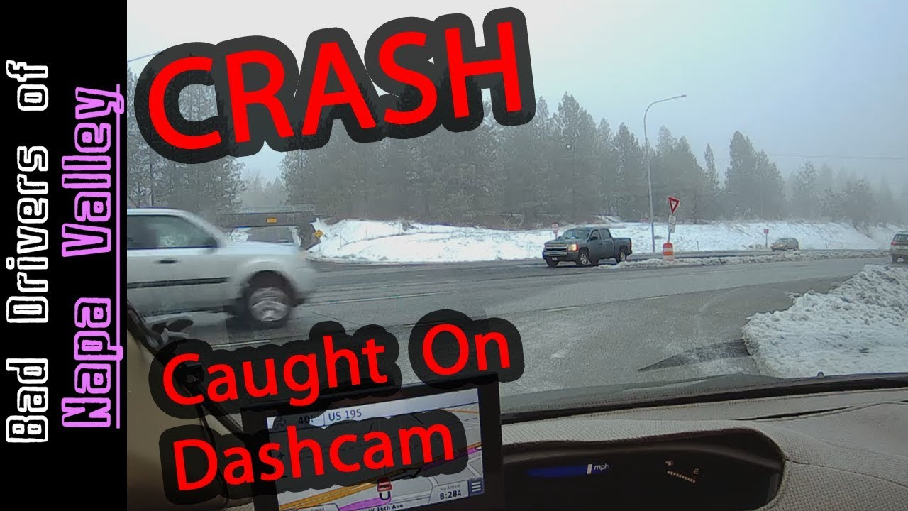 Car CRASH Caught On Dashcam | Rear End Collision | Spokane Washington
