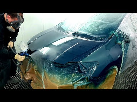 Spray Painting Car | Покраска Авто