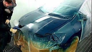 Spray Painting Car | Покраска Авто