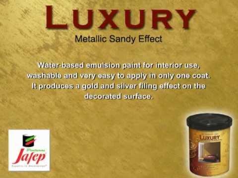 Luxury Metallic Sandy Effect Jafep Paints Youtube