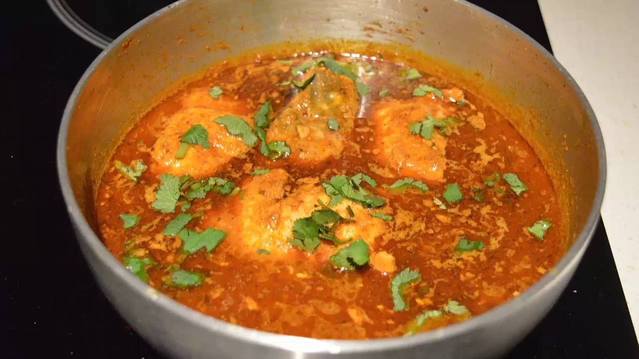 Salmon Fish Curry Spicy Recipe