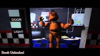 Анимация Пять Ночей Фредди,Охраник В Шоке