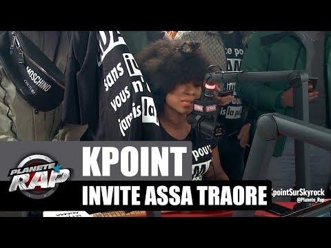 Kpoint invite Assa Traoré #PlanèteRap