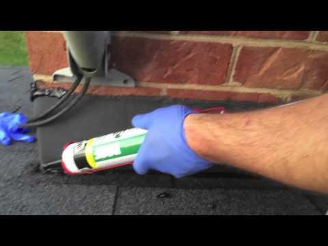 How To Caulk Chimney Flashing Apaxt35 Youtube