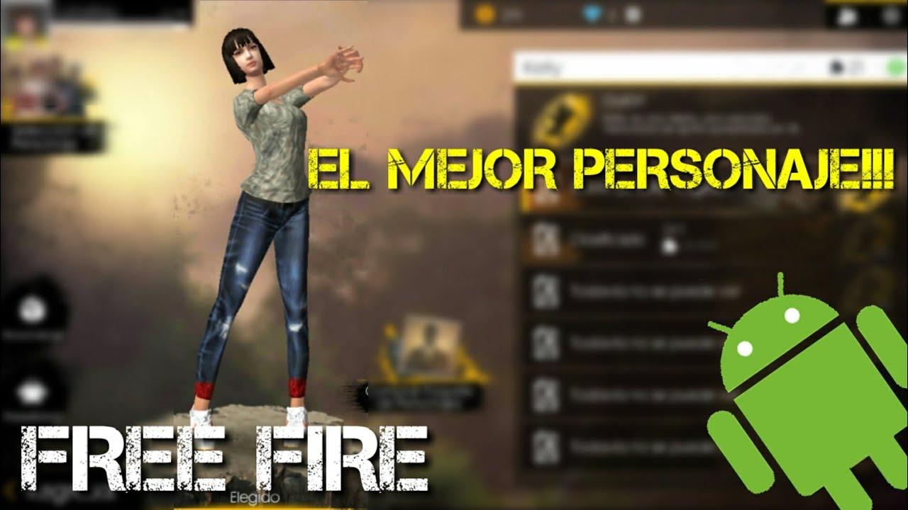 cual es el mejor personaje de free fire