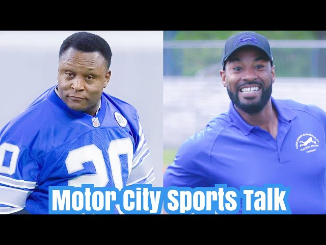 Barry Sanders Reacts to Calvin Johnson & Detroit Lions Beef!!!