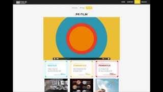 첨단의 새로운 디자인 영상 웹프로젝트 사이트