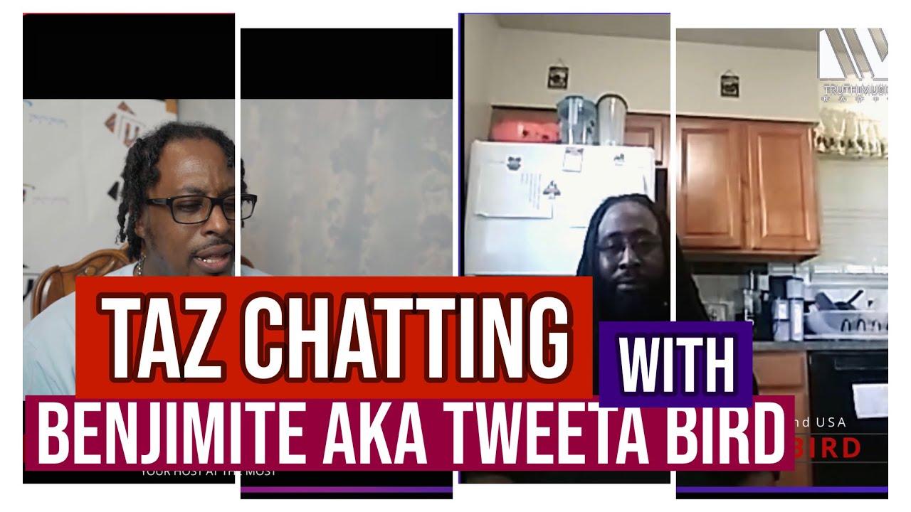 Taz talks with Benjamite aka Tweeta Bird | Raw Talent