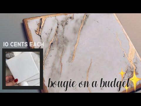 DIY LUX MARBLE COASTERS   Jasmine Diamond
