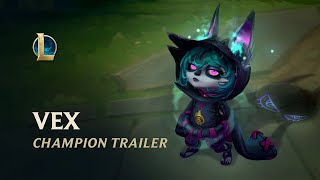 Vex: The Gloomist | Chaṁpion Trailer - League of Legends