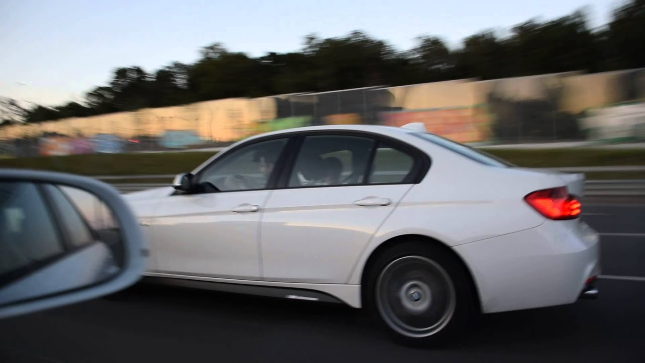 Audi A4 225hp vs BMW 328i Ex 320i 245hp vs BMW X3 300hp vs BMW