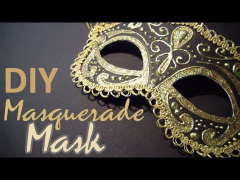 DIY: Masquerade Mask (from scratch)
