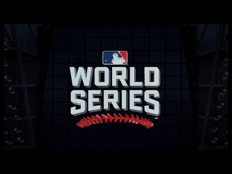 2017 WORLD SERIES: HOUSTON ASTROS AT LOS ANGELES DODGERS 10/24/17. MLB THE SHOW 17