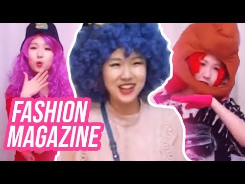I LOOK CRAZY! - Chat Helps Me Make A FASHION Magazine!