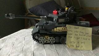 How To Build A Lego Tiger 1 (Part 7)