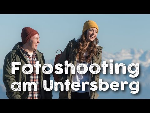 Fotoshooting am Untersberg für S-Pass Cover Model Contest - Making of