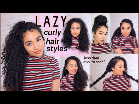 9 OF THE BEST CURLY HAIRSTYLES FOR PEOPLE WHO ARE AS LAZY AS ME!