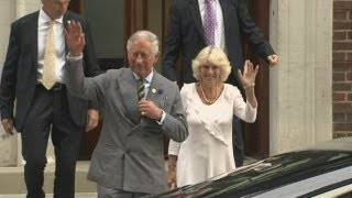 Royal Baby: Prince Charles and Camilla say grandson is