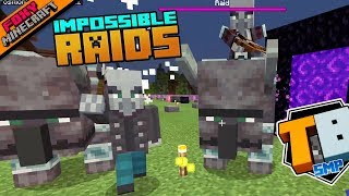 IMPOSSIBLE RAIDS | Truly Bedrock Season 1 [59] | Minecraft Bedrock Edition SMP