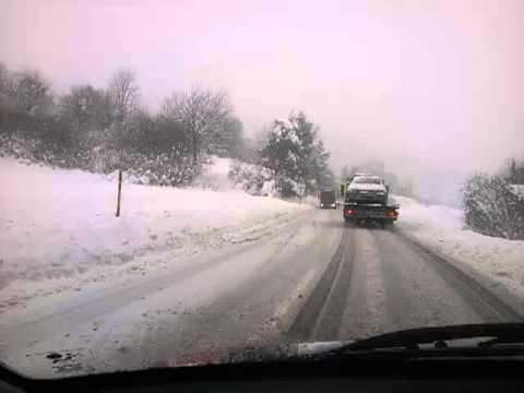 Slovenia in winter time, 18.01.2013