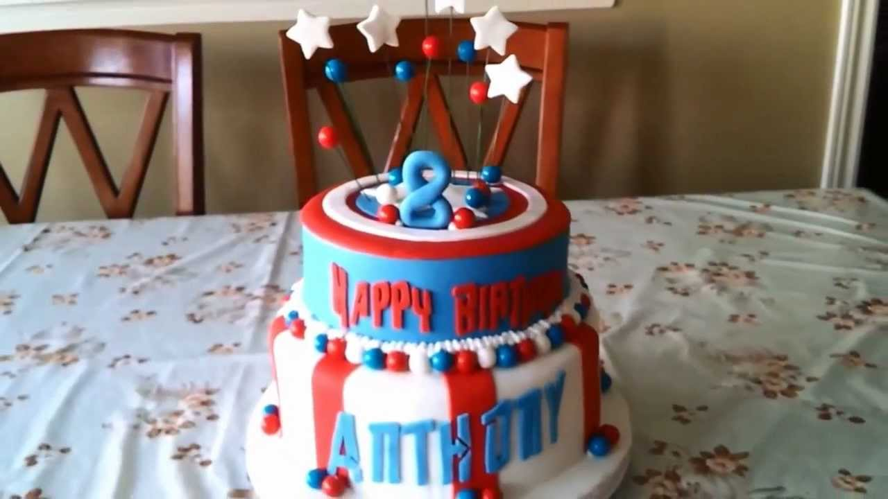 The Avengers Captain America Superhero Theme Cake YouTube