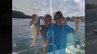 Fishing with Yudai at the Isles of Shoals.