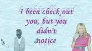 Miley Cyrus feat. Iyaz-This boy that girl || lyrics on screen