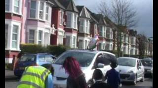 Purim in Stamford Hill 2009 Part 1