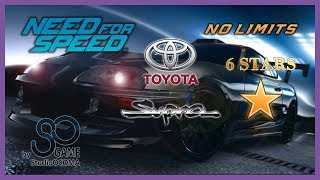 Toyota Supra 6 Stars & Race Need for Speed™ No Limits