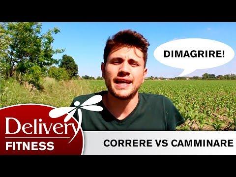 #1 - DIMAGRIRE: CORRERE VS CAMMINARE