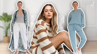 8 COMFY & CUTE Home Outfit Tips You Need To Know | Loungewear Lookbook