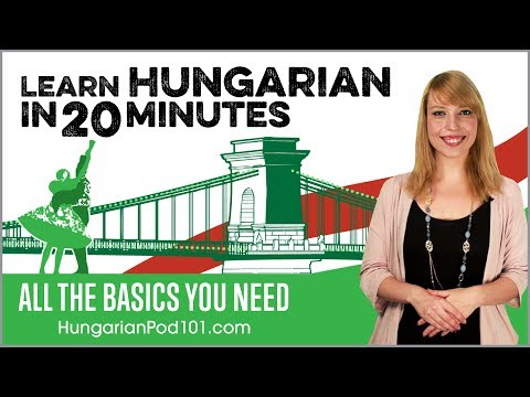 Learn Hungarian in 20 Minutes - ALL the Basics You Need