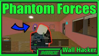 Roblox Phantom Forces Wall Hacker & Screen Shaker | Running Into A Phantom Forces Hacker |